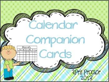 Calendar Companion Cards