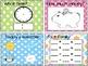Calendar Companion Cards Colorful Dots