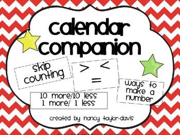 Calendar Companion (Red Chevron)
