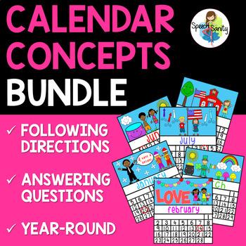 Calendar Concepts COMPLETE Year-Round BUNDLE