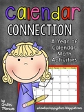 Calendar Connection {A Year of Calendar Math Activities}