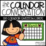 Calendar Conversation Cards {100 Question Cards}