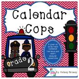 2nd grade Daily Calendar Practice {Calendar Cops}