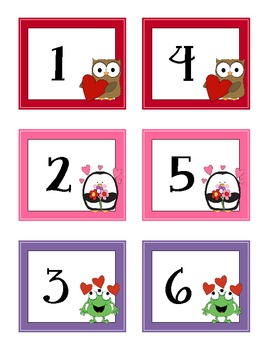 calendar counting cards februaryvalentine
