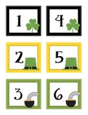 Calendar & Counting Cards - March/Shamrock