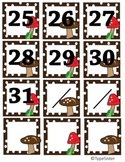 Calendar Cover Mushrooms on Dots 25-31 plus
