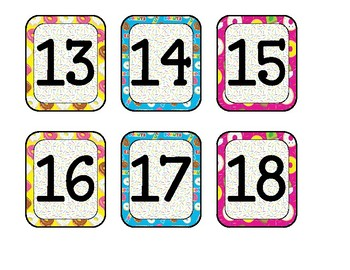 Calendar Cover-Up Donut Theme