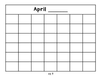 Calendar Craft or Gift