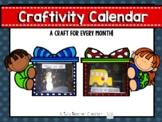 Calendar Craftivity-2019 Calendar