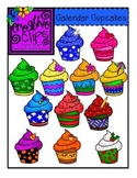 Calendar Cupcakes {Creative Clips Digital Clipart}