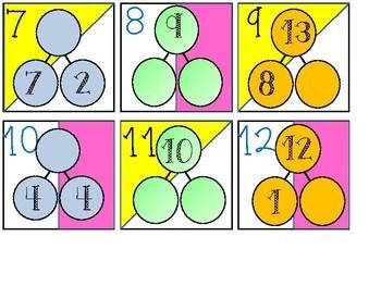 Calendar Date Card Bundle - Number Bonds, Place Value, and Position Words