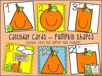 Calendar Date Cards - Bundle of Six