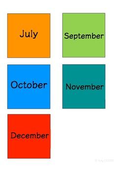 Calendar Display: Day, Week, Month, Year