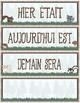 Calendar Display ~ French