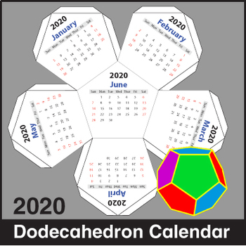 Calendar - Dodecahedron