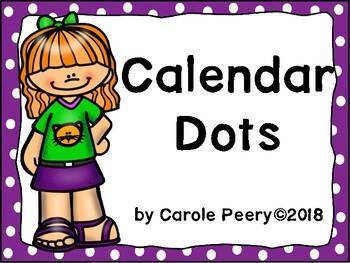Calendar Dots Editable