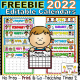 2018 Editable Calendars - Lifetime Updates