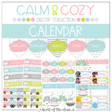 Calendar {Editable} - Calm & Cozy Collection