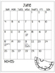 Calendar...Editable or Print and Go!!