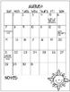 Calendar...Editable or Print and Go!!