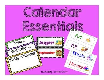 Calendar Essentials