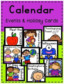 Calendar Event && Holiday Cards
