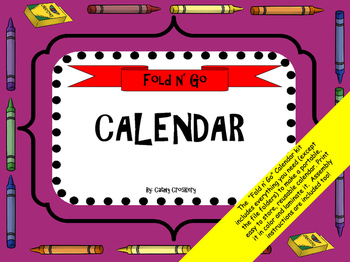 Calendar Kit for Special Education