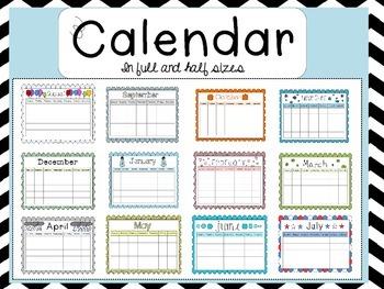 Calendar!