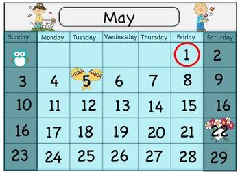 Calendar Flip Chart