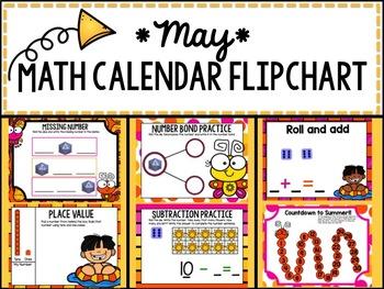 Calendar Flipchart - May