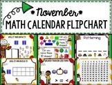 Calendar Flipchart - November