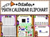 Calendar Flipchart - October