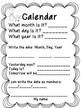 Calendar Folder/Center