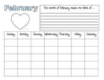Calendar For Kids