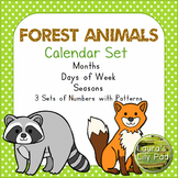 Calendar Forest Animals Theme