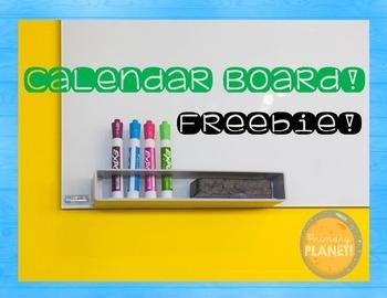 Calendar Freebie!