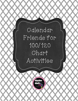 Calendar Friends for 100 or 120 Pocket Chart