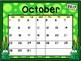 Calendar - Frog Theme - School Year Calendar
