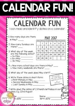 Calendar Fun