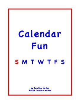 Calendar Fun (ESL Activities)