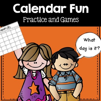 Calendar Fun- games, abbreviations, and learning to read a calendar.