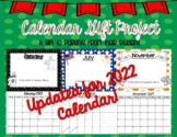 Calendar Gift Project - Christmas / Holiday Gift for Parents from their Student!