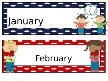 Calendar Headers