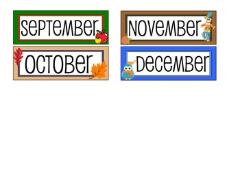 Calendar Headers : Have an Awesome Year : White
