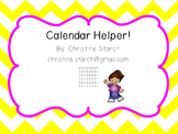 Calendar Math Helper!