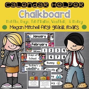 Calendar Helper: Chalkboard