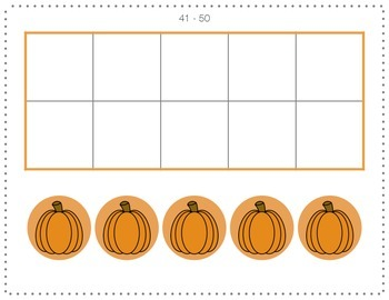 Calendar Helpers - 10-Frames *Holiday Version*