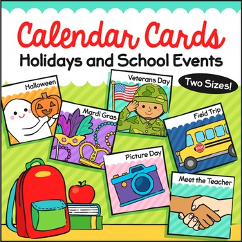 Calendar Holiday Cards