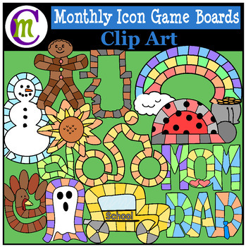 Calendar Icon Game Boards