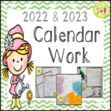 Calendar Interactive Activities Worksheets Printables 2017 2018